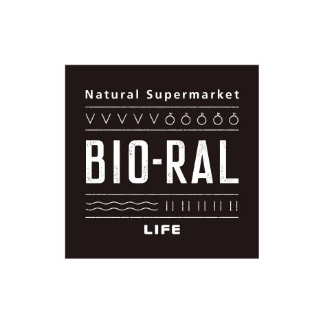 BIO-RAL ビオラル (ライフコーポレーション) ロゴ 店舗ロゴ デザイン