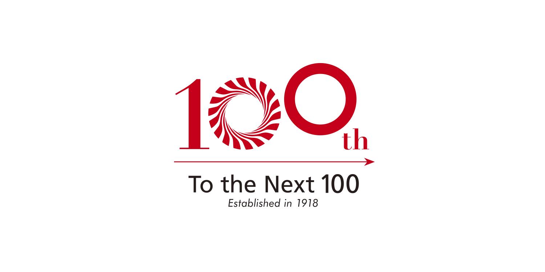 東洋電機製造 100周年 周年ロゴ