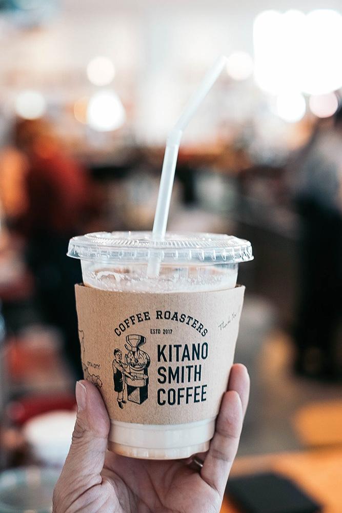 店舗ロゴ キタノスミスコーヒー ロゴ カフェ