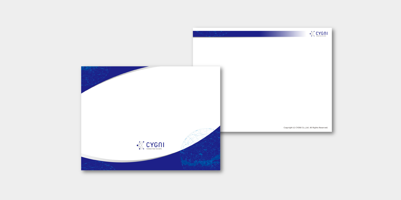CYGNI 企業ロゴ CI VI