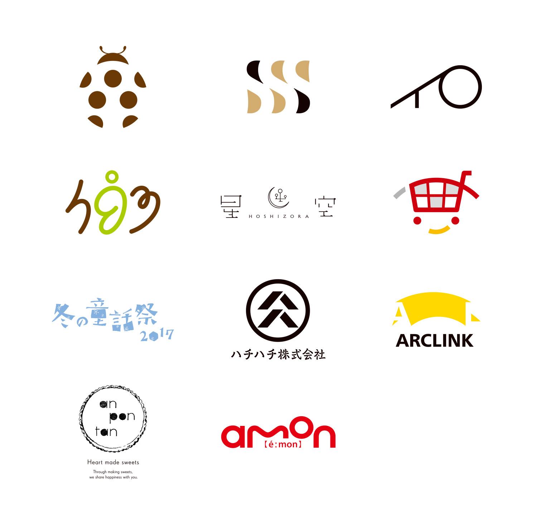 タイポグラフィ年鑑 入選 ロゴ シンボル デザイン