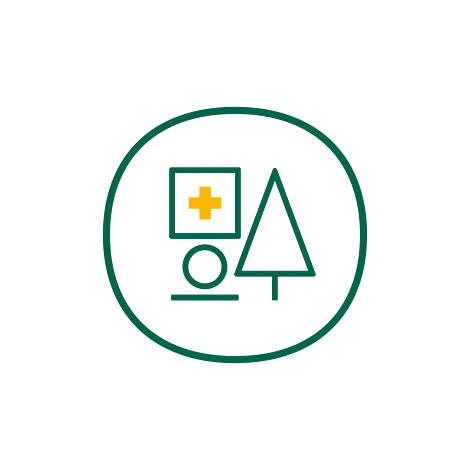 福本医院,fukumotoclinic,医院ロゴ,クリニックロゴ,CI,VI,デザイン,制作