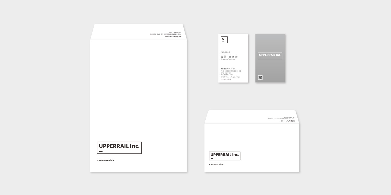 アッパーレイル,UPPERRAIL,企業ロゴ,会社ロゴ,CI,VI,デザイン,制作
